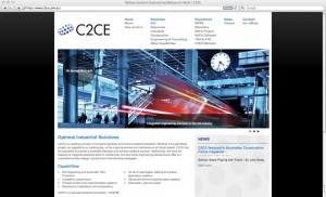C2CE Website Design