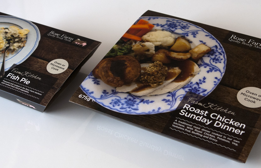 Ready Meal Packaging Design Cheshire