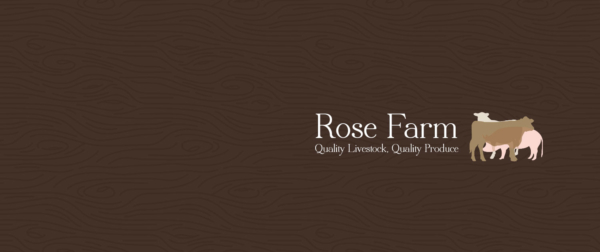 Brand Design Rose Farm Shop Red Fred Creative