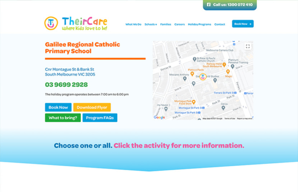 TheirCare Event Management
